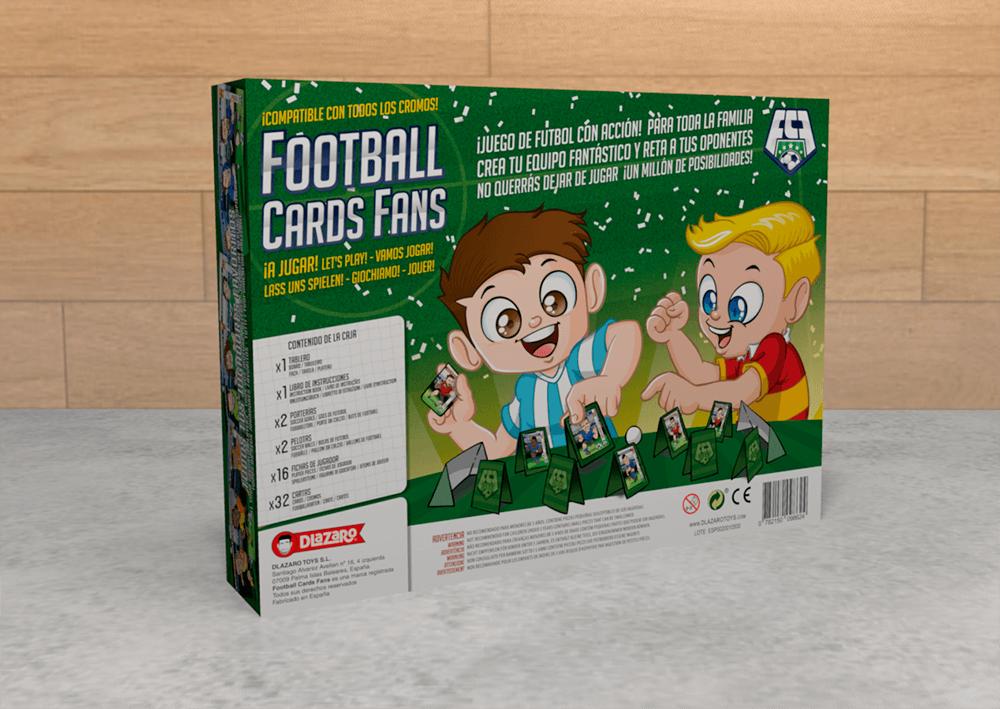 Football Cards Fans - DLazaro Toys - Rofe.com.ar diseño gráfico e ilustración Diseño de juego de mesa