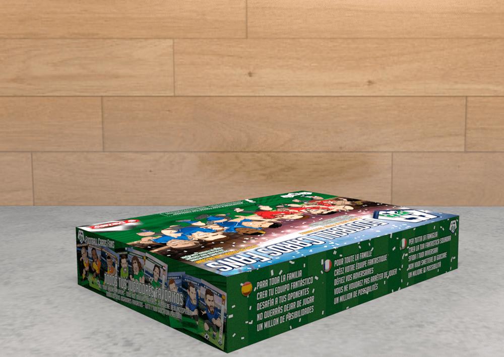 Football Cards Fans - DLazaro Toys - Rofe.com.ar diseño gráfico e ilustración
