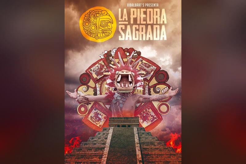 Diseño Afiche para La Piedra Sagrada - Rofe.com.ar diseño gráfico e ilustración