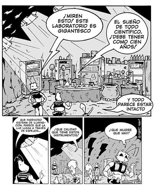 Tira de Gulyk la Hormiga - Rofe.com.ar diseño gráfico e ilustración