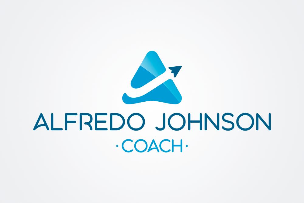 Logo Alfredo Johnson - Rofe.comar diseño gráfico e ilustración