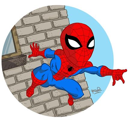 Spiderman_color_circulo